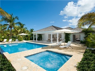 Luxury Beach Villa in Jolly Harbor Marina Antigua
